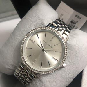 Authentic Vince Camuto Silver Swavorski Crystals Womens Watch (New With Tags ) for Sale in Surprise, AZ