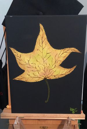 Leaf painting for Sale in Memphis, TN