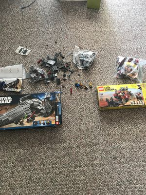 Star Wars legos and Lone Ranger legos for Sale in Medina, OH