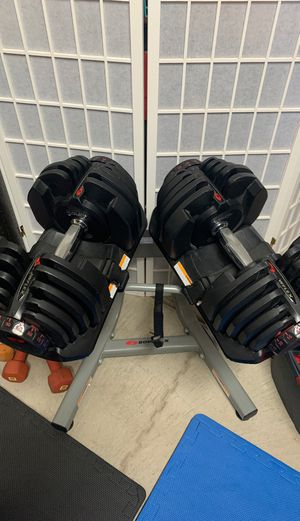 Bowflex 1090 Dumbbells w/ stand for Sale in Sacramento, CA