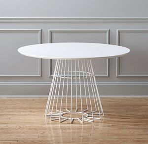 "CB2 48"" Round Dining Table for Sale in West Hollywood, CA"