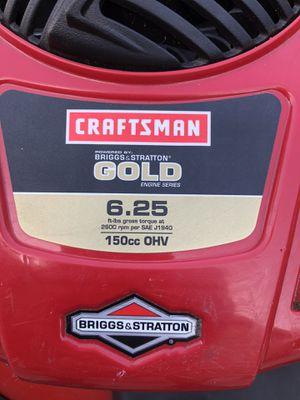 Craftsman gold lawn mower for Sale in Lakewood, CA