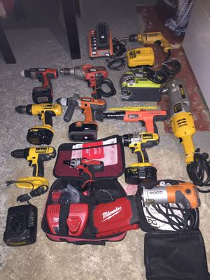 Tools: drills saws nail gun for Sale in Washington, DC