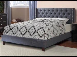 New Platform Bed Frame With Mattress Included In Full Or Queen for Sale in Burbank, CA