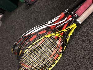 4 tennis rackets for Sale in San Francisco, CA