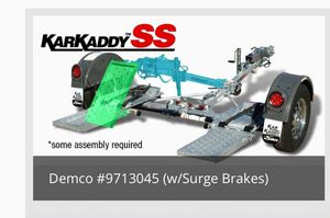 KarKaddy SS Tow Dolly (Brand New) Fully Assembled for Sale in Baton Rouge, LA
