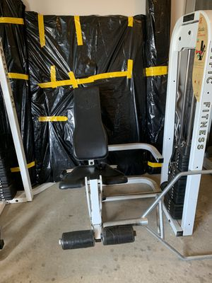 Professional Gym equipment 3 pieces for Sale in Dallas, GA