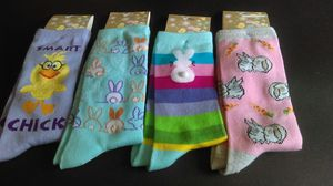 Brand new bunny / chick colorful socks for Sale in Vancouver, WA