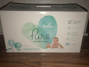 *$20* PAMPERS PURE PROTECTION DIAPERS SIZE 1 for Sale in El Monte, CA