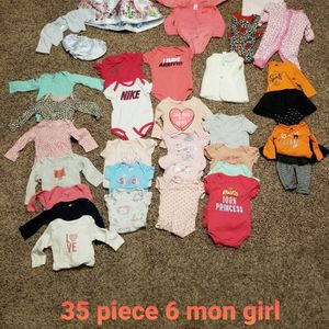 Childrens Clothes Girl 6 Mon for Sale in Mount Laurel Township, NJ