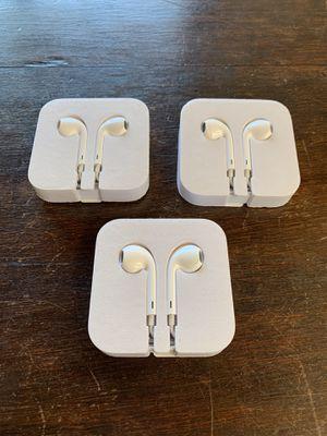 Apple EarPods (Set of 3) for Sale in Danville, CA