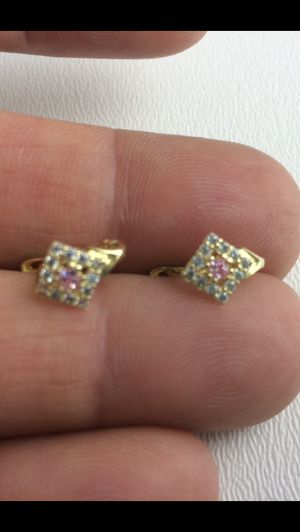 10K Solid Gold Earnings for Girls for Sale in Miami Lakes, FL