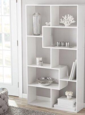 New!! Bookcase, bookcase, bookshelves, organizer, living room furniture, storage unit , white for Sale in Phoenix, AZ