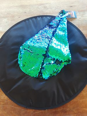 New Mermaid Sequence Adult Witch Hat for Sale in El Cajon, CA