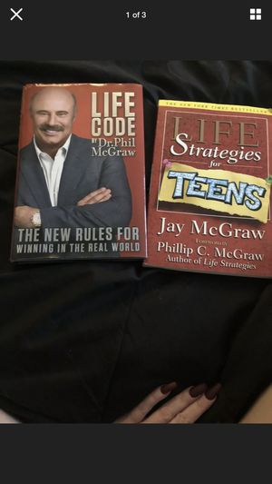 2 Books -Dr Phil and Jay McGraw -Life Code and Life Strategy for Sale in Fallbrook, CA