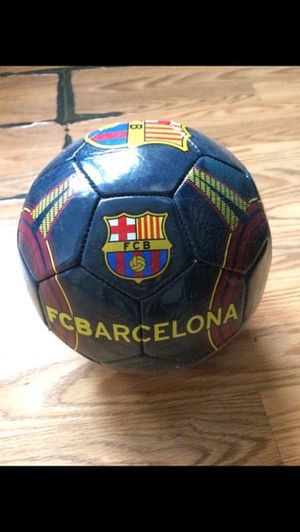 FCB New Soccer Ball for Sale in Chicago, IL