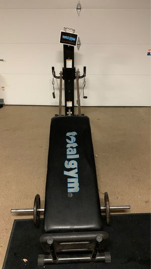 Rarely used Total Gym with additional weights. for Sale in Fairfax, VA