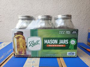 Wide Mouth Mason Jars for Sale in Los Angeles, CA