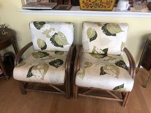 2 Bamboo chairs for Sale in Brick Township, NJ