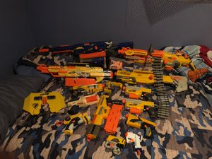 Nerf guns and bullets for Sale in Georgetown, KY