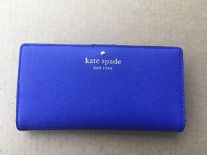 Royal Blue Kate Spade Wallet for Sale in Seattle, WA