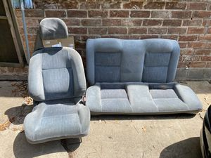 92-95 civic backseat and passenger seat for Sale in BROOKSIDE VL, TX