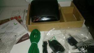 MODEM Qwest ZyXEL Q100 VDSL2 DSL Black and blue for Sale in Mesa, AZ