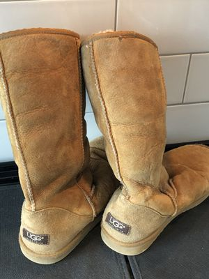 UGG Boots - Women's Size 8 Classic Tall (Color: Chestnut) for Sale in Nashville, TN