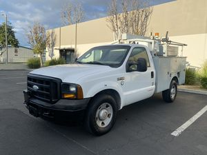 2006 Ford F-350 Utility Bedliner low mils 106k for Sale in Westminster, CA