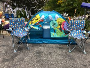 Kids Tent camping set for Sale in Winsted, CT