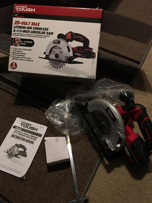 20 volt cordless circular saw New for Sale in San Antonio, TX