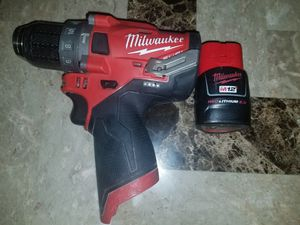 Milwaukee hammer drill 12v for Sale in Sacramento, CA