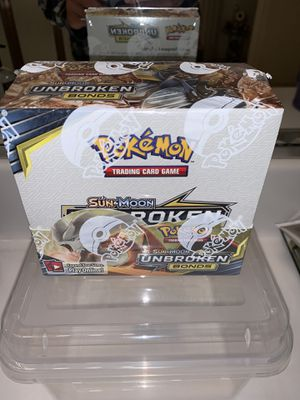 Pokémon TCG Unbroken Bonds Booster Box 36 Booster Packs Sun & Moon. for Sale in Chandler, AZ