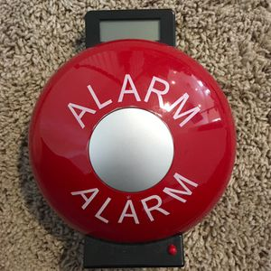 Fire Department electronic alarm clock alarm bell for Sale in Round Rock, TX