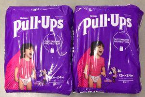 Huggies Pull-Ups Girls Training Pants 12-24M for Sale in Atlanta, GA