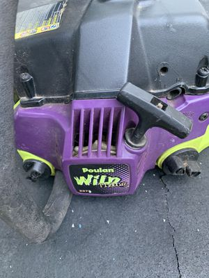 "Chainsaw poulan 16"" for Sale in Bolingbrook, IL"