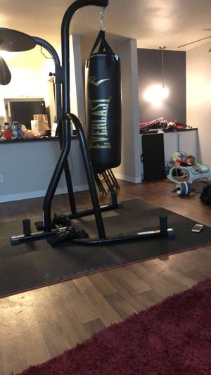 Heavy bag speed bag stand(just the stand) for Sale in Aurora, CO