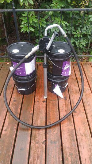 Dayton Hand Barrel pump 4vcr3 for Sale in Portland, OR