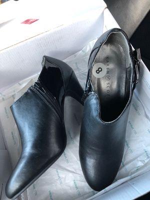 "Karen Scott ankle black boot 4"" heel new size 8 for Sale in Miami, FL"
