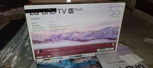 "55"" LG 4k UltraHD Smart HDR LED Tv for Sale in El Cajon, CA"