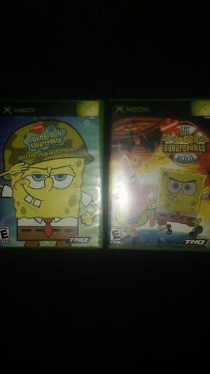 SpongeBob SquarePants Xbox Bundle for Sale in Glendale, AZ