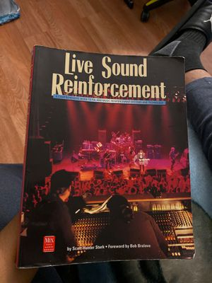 Live Sound Reinforcement (Mix Pro Audio Series) book for Sale in Lancaster, CA
