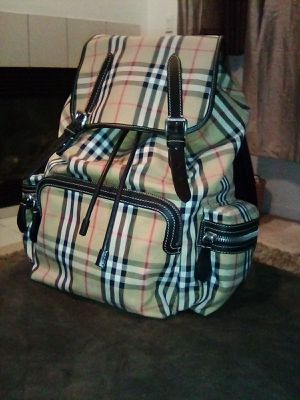 Basically brand new authentic Burberry backpack for Sale in Sacramento, CA