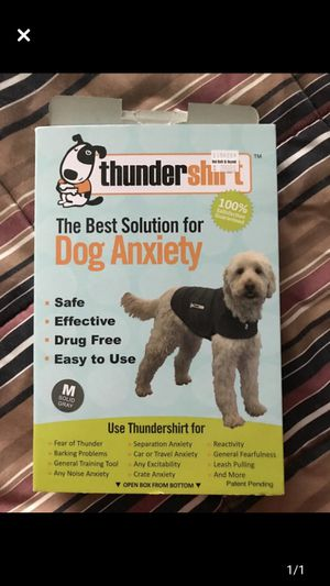 Dog anxiety thunder shirt for Sale in Poinciana, FL