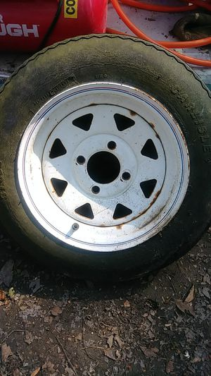 Trailer rim and tire for Sale in Summerville, SC