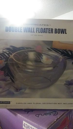 Double wall floater Bowl for Sale in Vista, CA