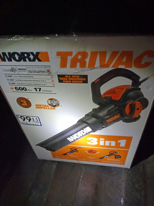 Trivac by worx never opened