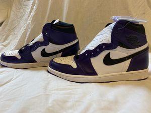 Jordan 1 Court Purple 2.0 for Sale in Ruston, WA