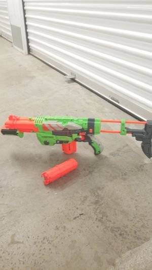 Green nerf gun for Sale in Los Angeles, CA