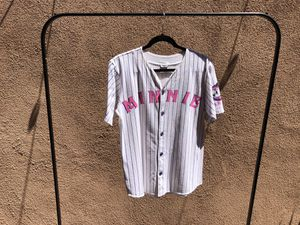 Vintage Pinstriped Minnie Graphic Baseball Tee for Sale in Santa Ana, CA